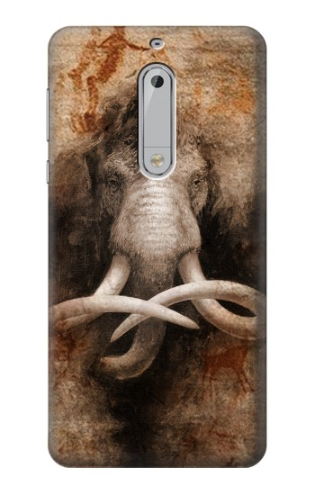 Printed Mammoth Ancient Cave Art HTC Desire 510 Case