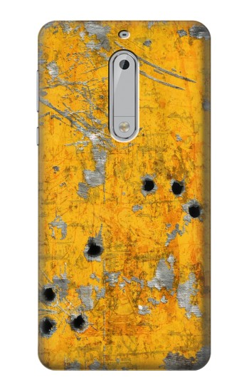 Printed Bullet Rusting Yellow Metal HTC Desire 510 Case