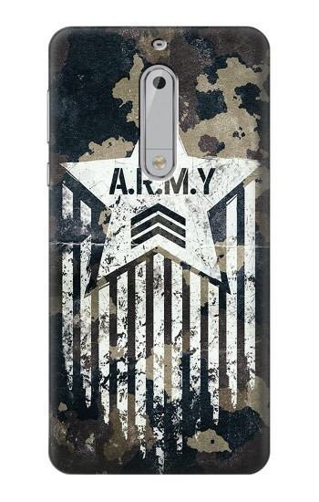 Printed Army Camo Camouflage HTC Desire 510 Case