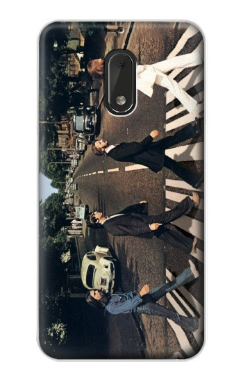 Printed The Beatles Abbey Road Nokia Lumia 1320 Case