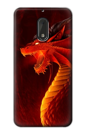Printed Red Dragon Nokia Lumia 1320 Case