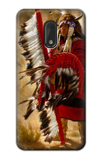 Printed Red Indian Nokia Lumia 1320 Case