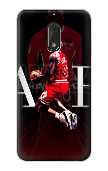 Printed Basketball Air Jordan Nokia Lumia 1320 Case