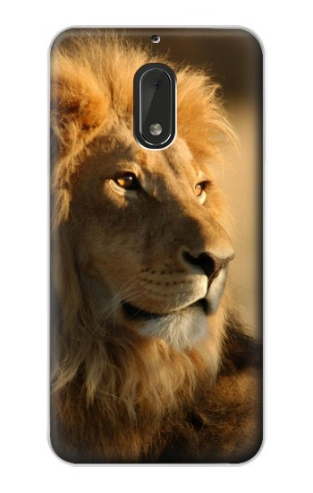 Printed Lion King of Forest Nokia Lumia 1320 Case