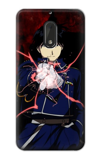 Printed Fullmetal Alchemist Roy Mustang Nokia Lumia 1320 Case