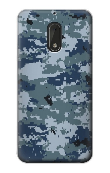 Printed Navy Camo Camouflage Graphic Nokia Lumia 1320 Case