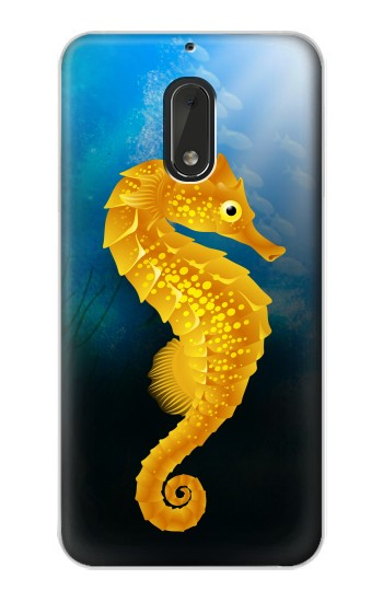 Printed Seahorse Underwater World Nokia Lumia 1320 Case