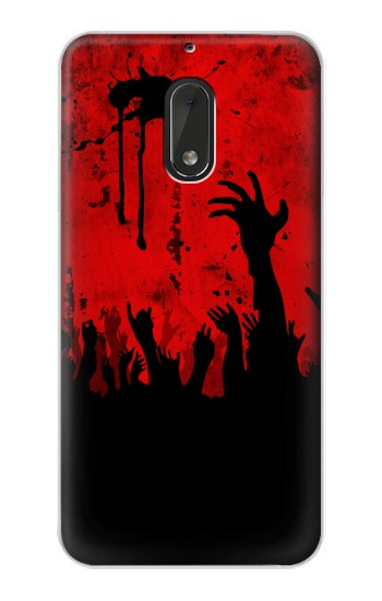 Printed Zombie Hands Nokia Lumia 1320 Case