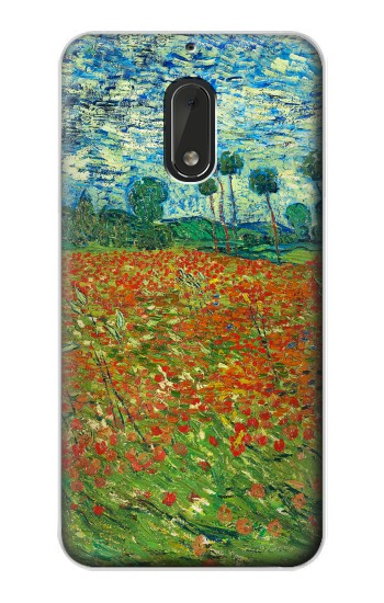 Printed Field Of Poppies Vincent Van Gogh Nokia Lumia 1320 Case