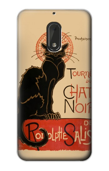 Printed Chat Noir The Black Cat Nokia Lumia 1320 Case