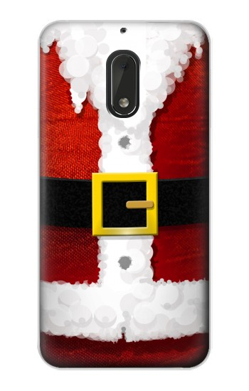 Printed Christmas Santa Red Suit Nokia Lumia 1320 Case