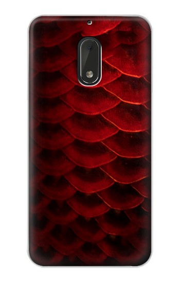 Printed Red Arowana Fish Scale Nokia Lumia 1320 Case