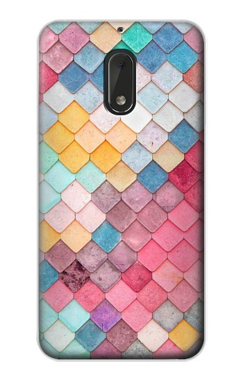 Printed Candy Minimal Pastel Colors Nokia Lumia 1320 Case