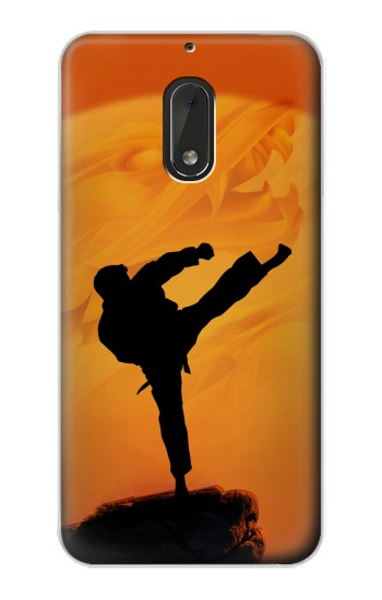 Printed Kung Fu Karate Fighter Nokia Lumia 1320 Case