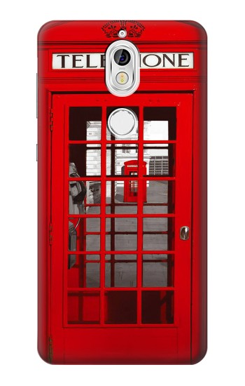 Printed Classic British Red Telephone Box Nokia 7 Case