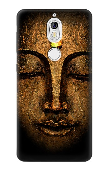 Printed Buddha Face Nokia 7 Case