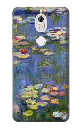 Printed Claude Monet Water Lilies Nokia 7 Case