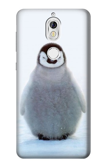 Printed Penguin Ice Nokia 7 Case
