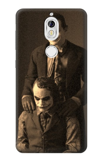 Printed Jokers Together Nokia 7 Case