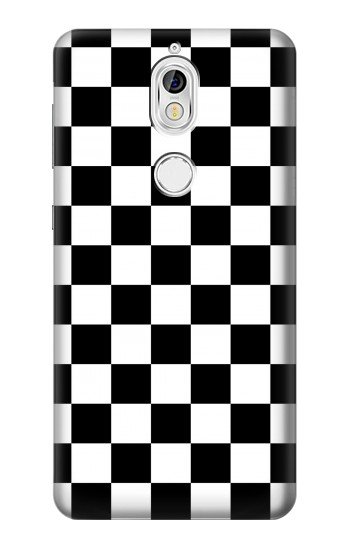 Printed Checkerboard Chess Board Nokia 7 Case