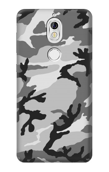 Printed Snow Camo Camouflage Graphic Printed Nokia 7 Case