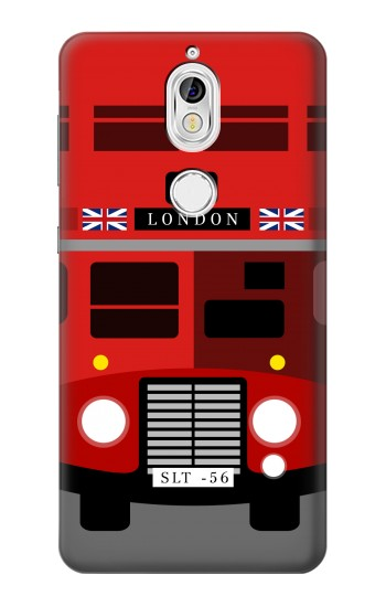 Printed England British Double Decker Bus Minimalist Nokia 7 Case
