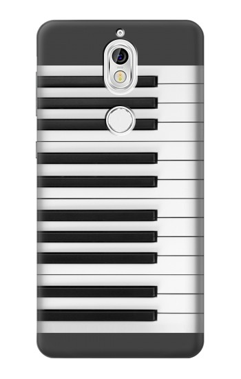 Printed One Octave Piano Nokia 7 Case