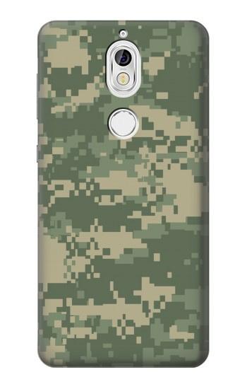Printed Digital Camo Camouflage Graphic Printed Nokia 7 Case