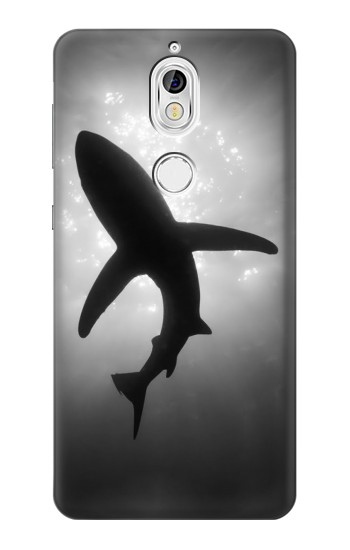 Printed Shark Monochrome Nokia 7 Case