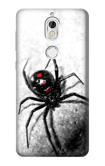 Printed Black Widow Spider Nokia 7 Case