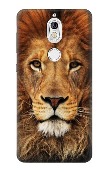 Printed Lion King of Beasts Nokia 7 Case