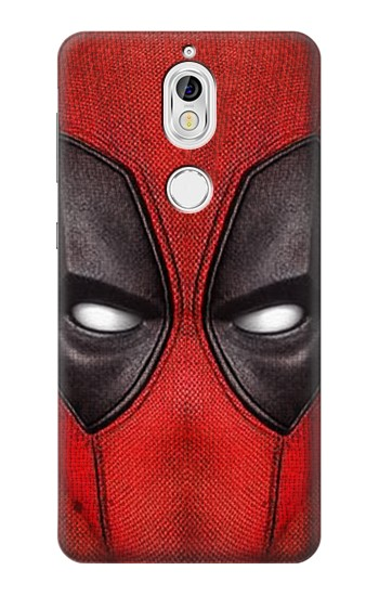 Printed Deadpool Mask Nokia 7 Case