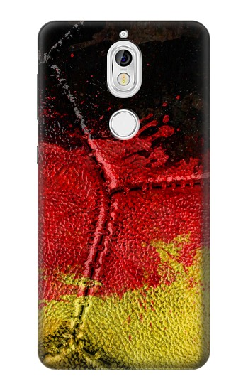 Printed Germany Flag Vintage Football 2018 Nokia 7 Case