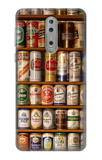 Printed Beer Cans Collection Nokia Lumia 1520 Case