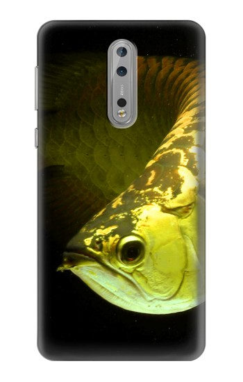 Printed Gold Arowana Fish Nokia Lumia 1520 Case