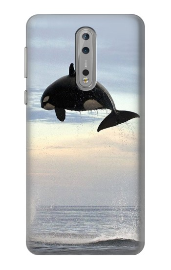 Printed Killer whale Orca Nokia Lumia 1520 Case