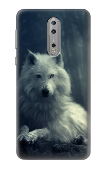 Printed White Wolf Nokia Lumia 1520 Case