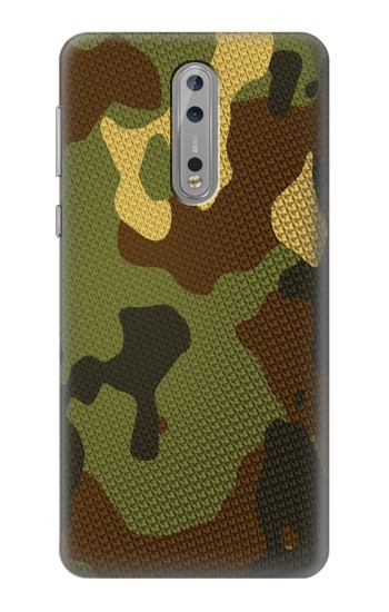Printed Camo Camouflage Graphic Printed Nokia Lumia 1520 Case