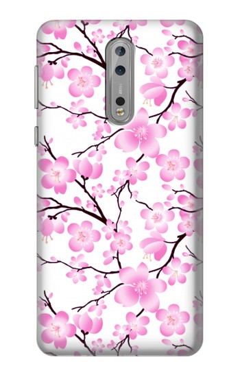 Printed Sakura Cherry Blossoms Nokia Lumia 1520 Case
