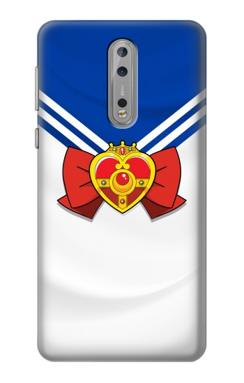 Printed Sailor Moon Brooch and Bow Nokia Lumia 1520 Case