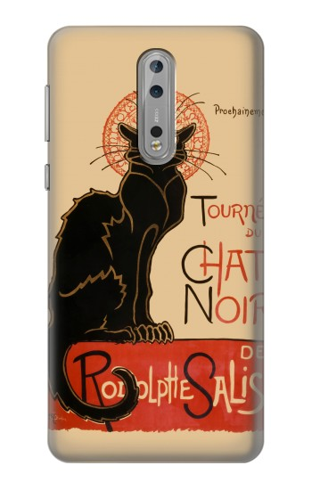 Printed Chat Noir The Black Cat Nokia Lumia 1520 Case