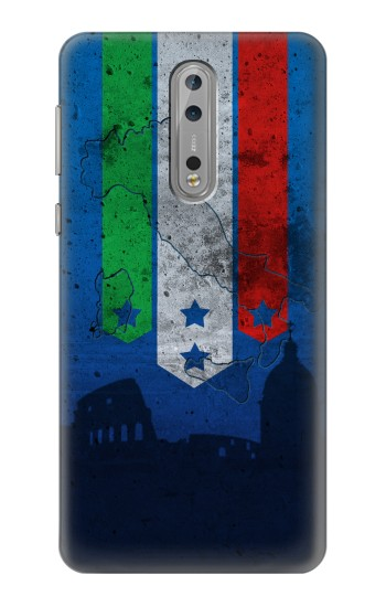 Printed Italy Football Flag Nokia Lumia 1520 Case
