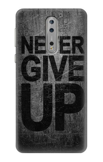 Printed Never Give Up Nokia Lumia 1520 Case