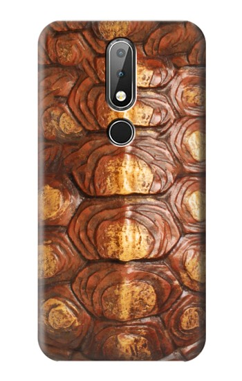 Printed Turtle Carapace Nokia X6 Case