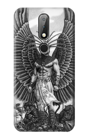 Printed Aztec Warrior Nokia X6 Case