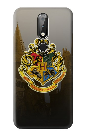 Printed Hogwarts School of Witchcraft and Wizardry Nokia X6 Case