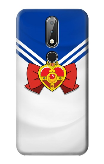 Printed Sailor Moon Brooch and Bow Nokia X6 Case