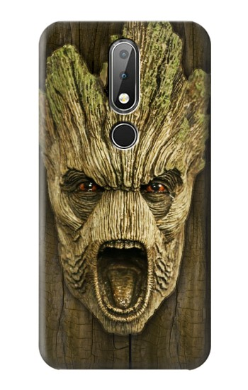 Printed Guardians of the Galaxy Groot Head Nokia X6 Case