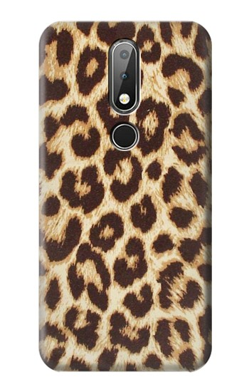 Printed Leopard Pattern Graphic Printed Nokia X6 Case