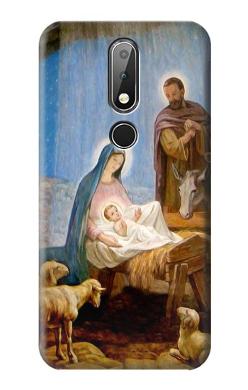 Printed The Nativity Nokia X6 Case